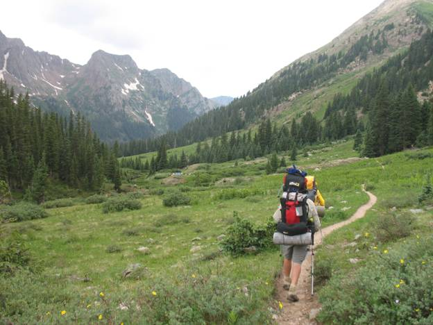 backpacking through Chicago Basin © 2012 Frosty Wooldridge